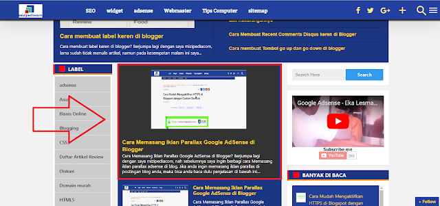 Cara Membuat Featured Post Tanpa Slider ala New Johny Wuss RESPONSIVE