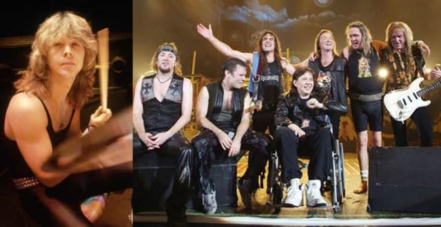Απεβίωσε ο πρώην drummer των Iron Maiden, Clive Burr