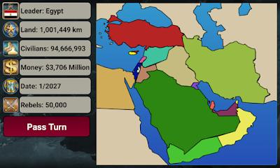 لعبة Middle East Empire مهكرة للأندرويد، لعبة Middle East Empire كاملة للأندرويد