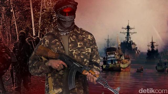 Kelompok Abu Sayyaf Sandra 4 Orang Pelaut Malaysia dan Lepaskan 3 Pelaut Indoesia