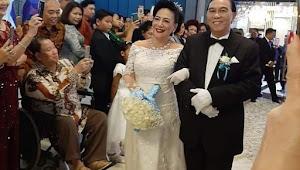 Viral, Wanita Asal Manado yang Baru Menikah di Usia 68 Tahun Setelah Bertemu Cinta Pertamanya