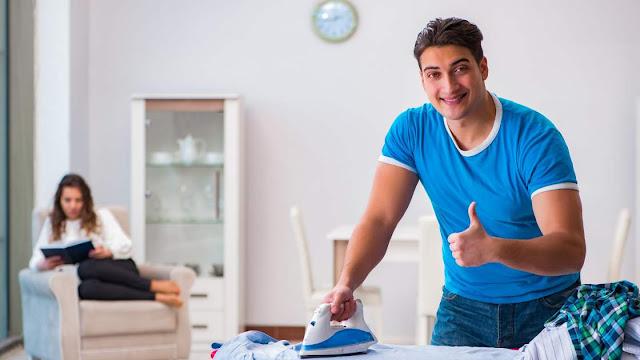 Suami bantu kerjaan rumah