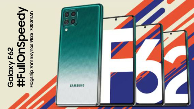 Samsung Galaxy F62 Details, Launching Color Variants, Release Date