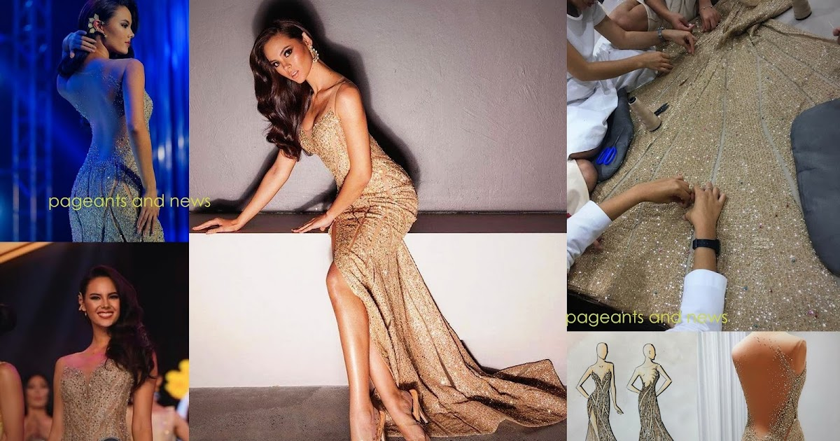 Story behind the Gown of Binibining Pilipinas Universe 2018 Catriona Gray