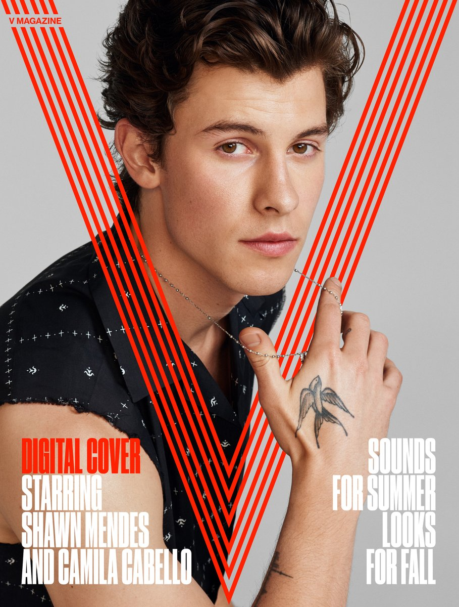 Shawn Mendes is a heartthrob for V magazine