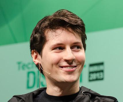 Telegram founder Pavel Durov