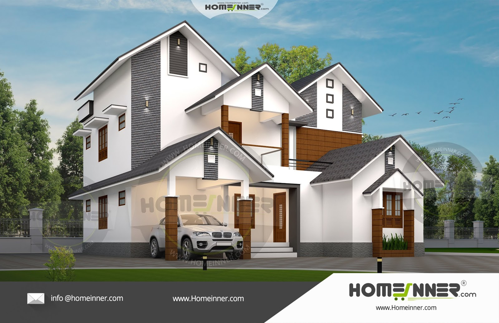20 Lakh 4 BHK 2330 sq ft Trivandrum Villa