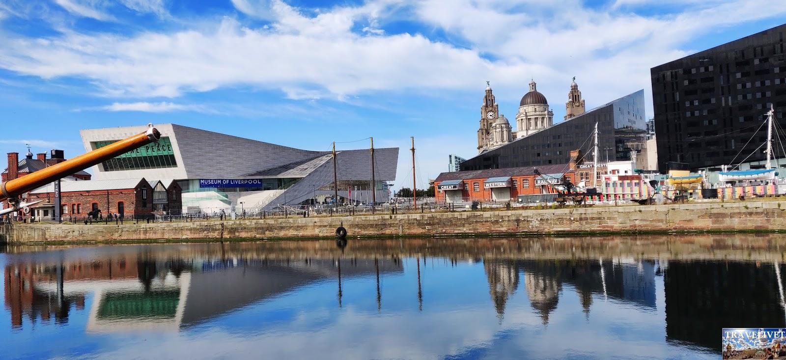 Angleterre Liverpool Dock