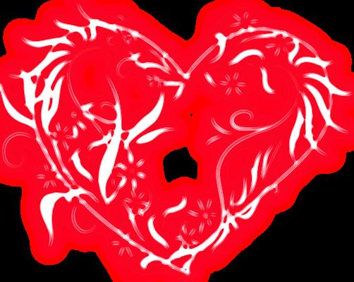 Corazones Con Efectos Para San Valentin,png