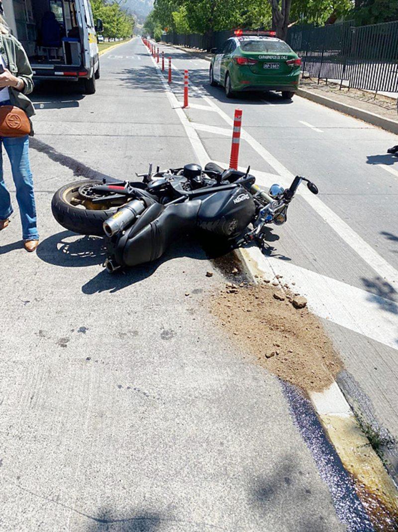 El duro trance del hijo de Pato Cornejo tras accidente en moto