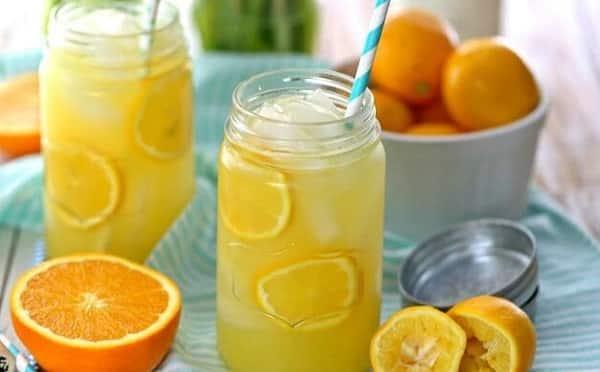 Benefits of orange and lemon juice for slimming