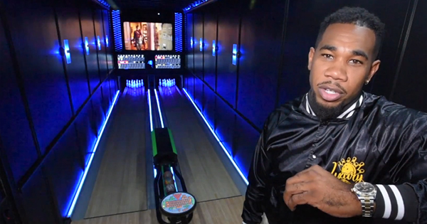 Terence Jackson, founder of Luxury Strike Bowling