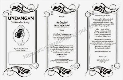 Download Template Undangan Walimatul Ursy