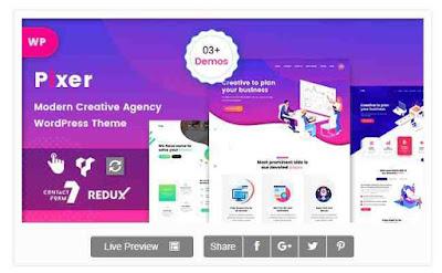 Donwload Theme Wordpress Pixer Digital Agency