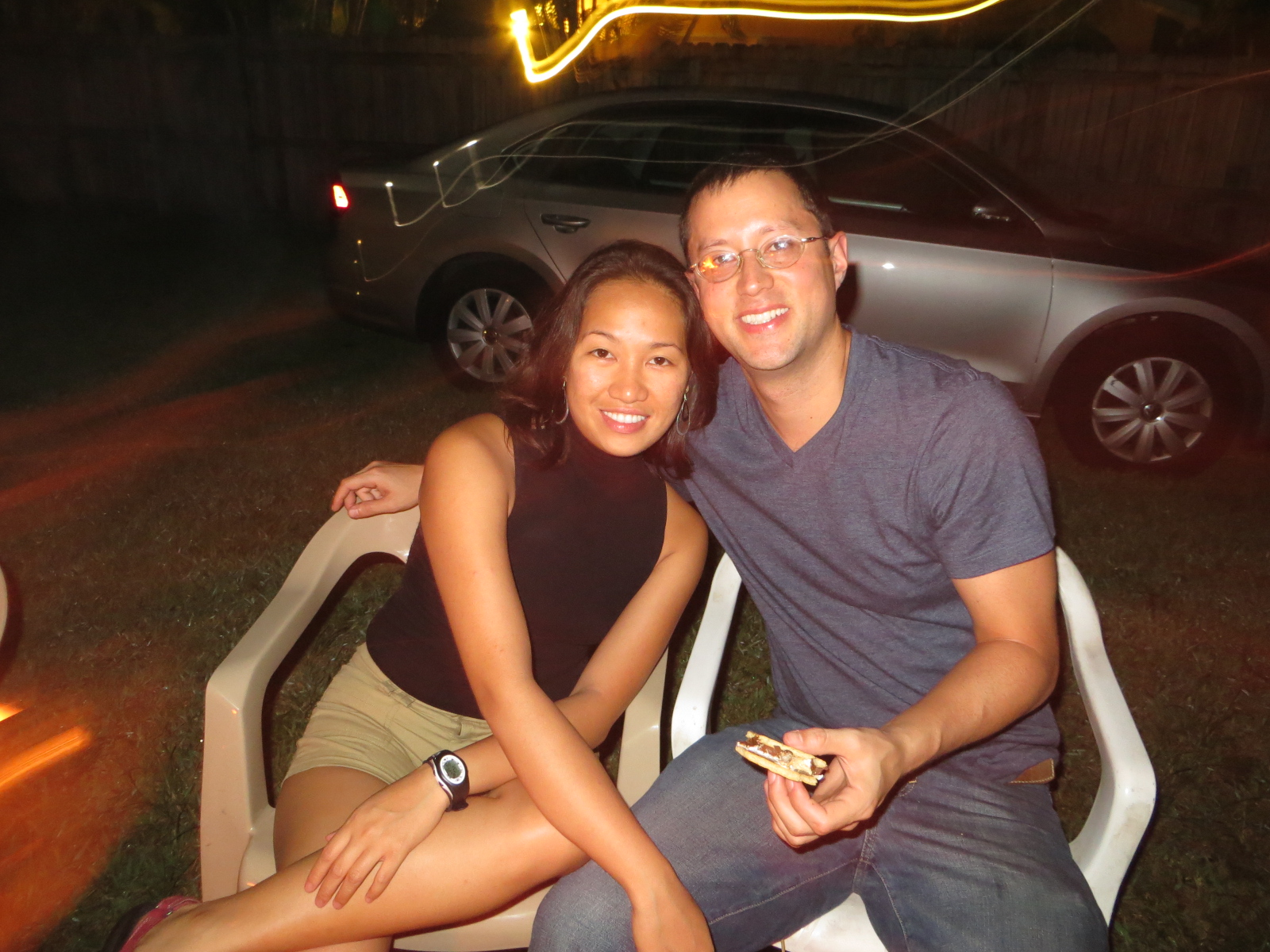 My asian girlfriend and my ex