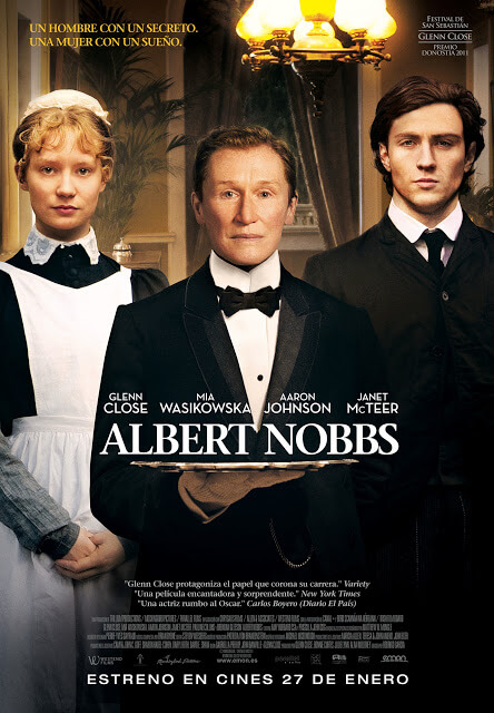 Cartel: Albert Nobbs (2011)