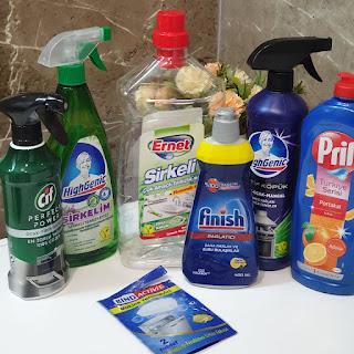 Hijyen, temizlik ürünleri, en iyi yağ çözücü, en iyi sirkeli