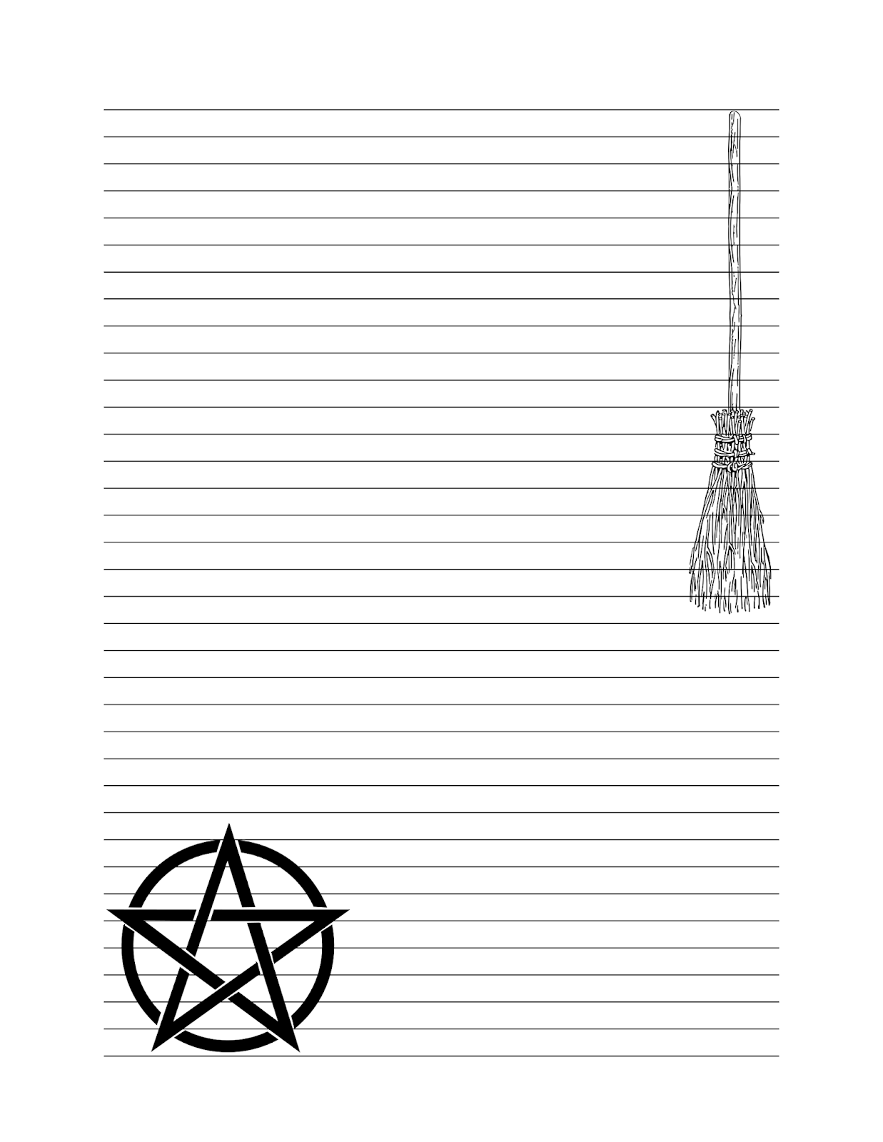 Build A Book Of Shadows Pentagram Journal Pages