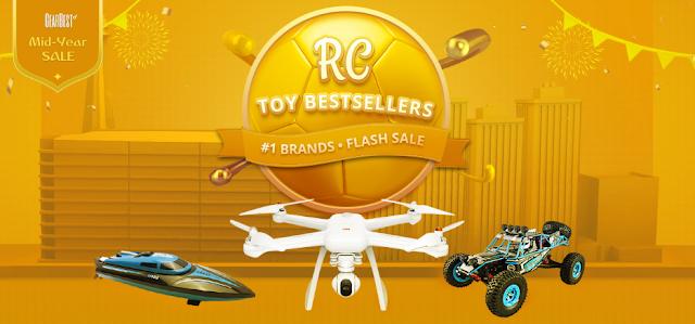 Разпродажба на дистанционно и радио управляеми играчки