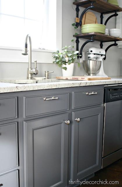 My favorite hidden storage for the kitchen and bathroom