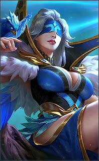 Pharsa Indigo Aviatrix Heroes Mage of Skins V