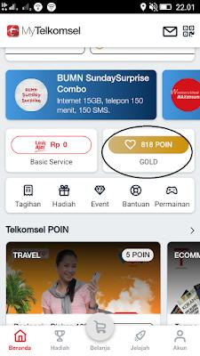 Cara Mendapatkan 1GB Internet dari Telkomsel Poin