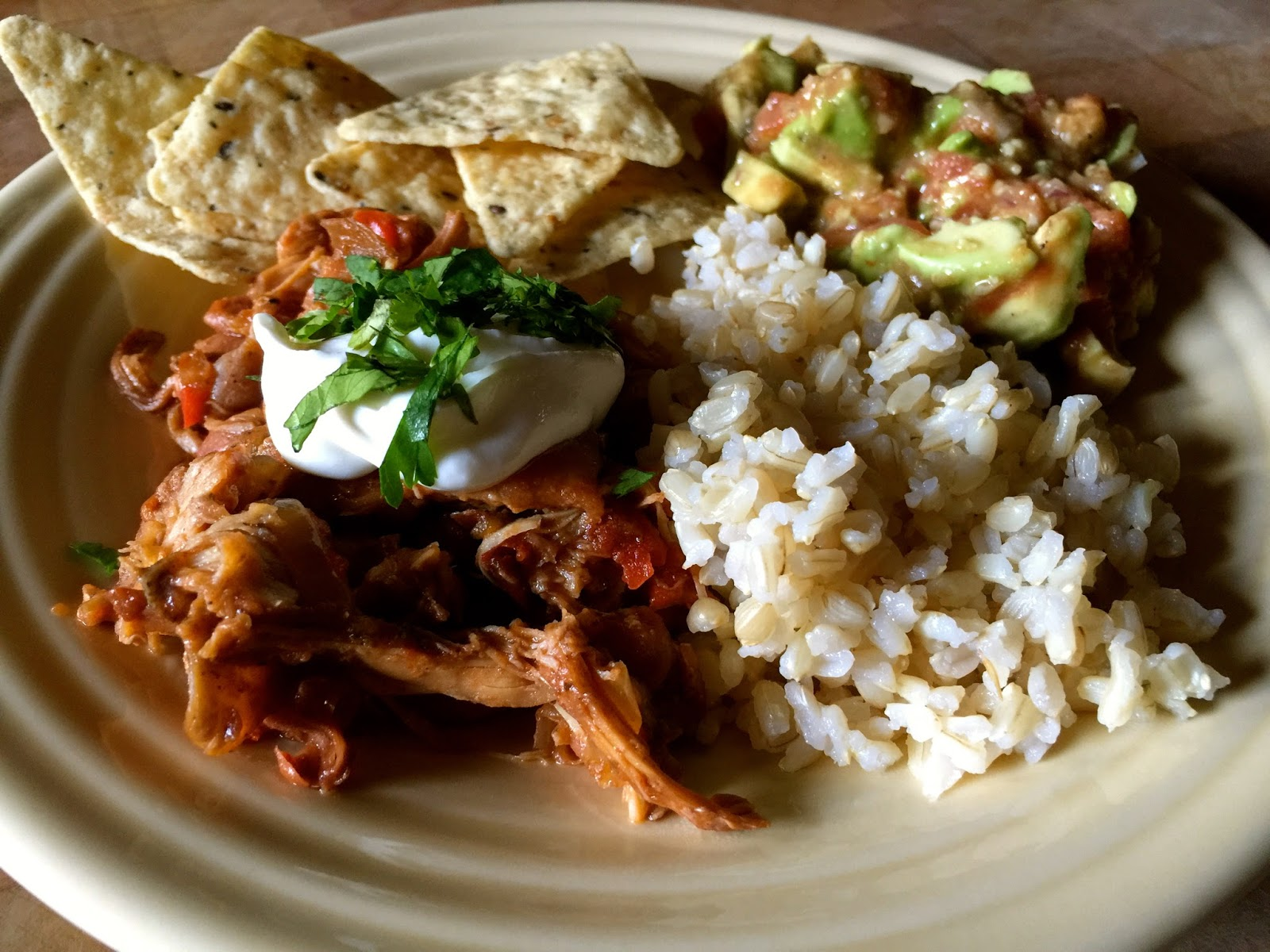 ... Recipes From Alice's Kitchen: Slow-Cooked Tex-Mex Chicken and Beans