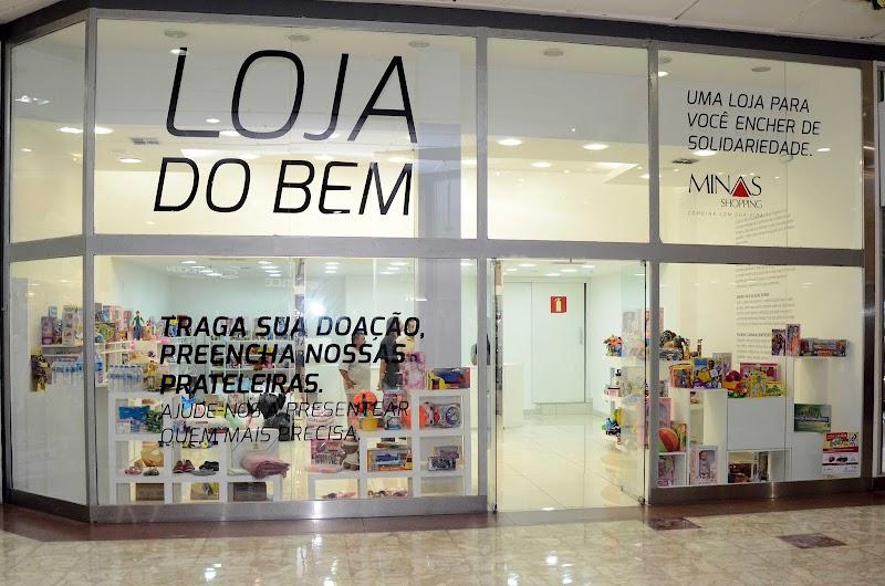 Loja do Bem do Minas Shopping firma parceria com Hospital da Baleia para receber doações de leite e fraldas geriátricas
