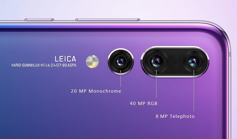 The Huawei P20 Pro Camera Specifications
