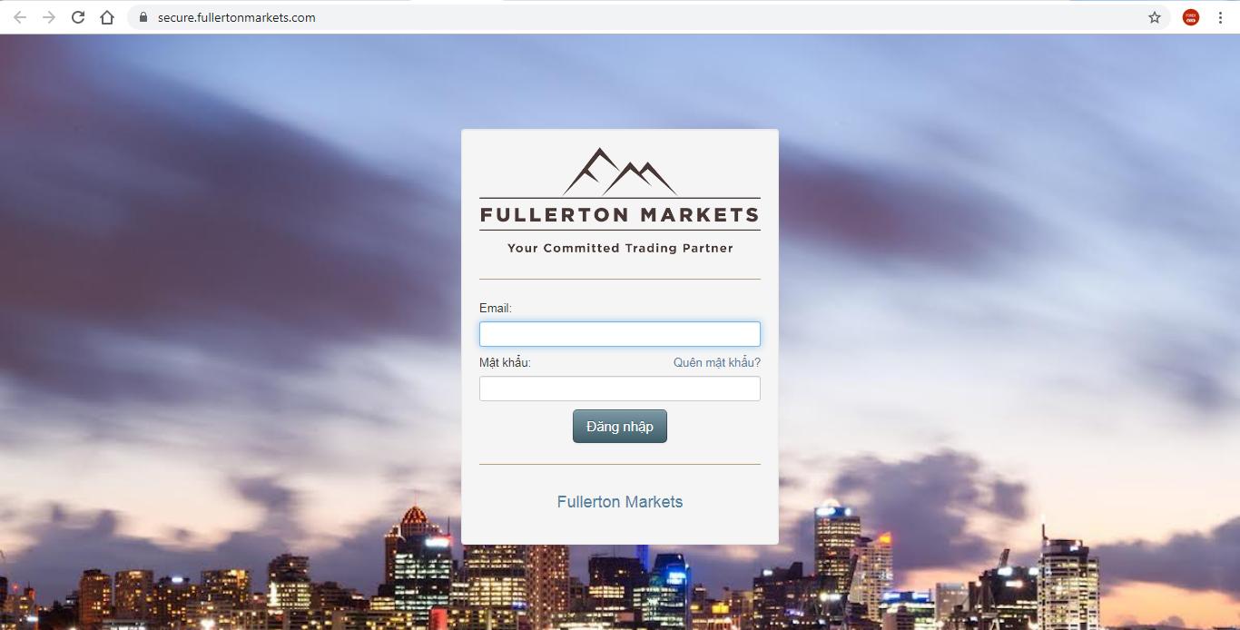 Forex fullerton