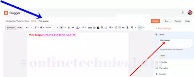 How To Add Post Under Pages In Blogger| Most Effective Navigation links