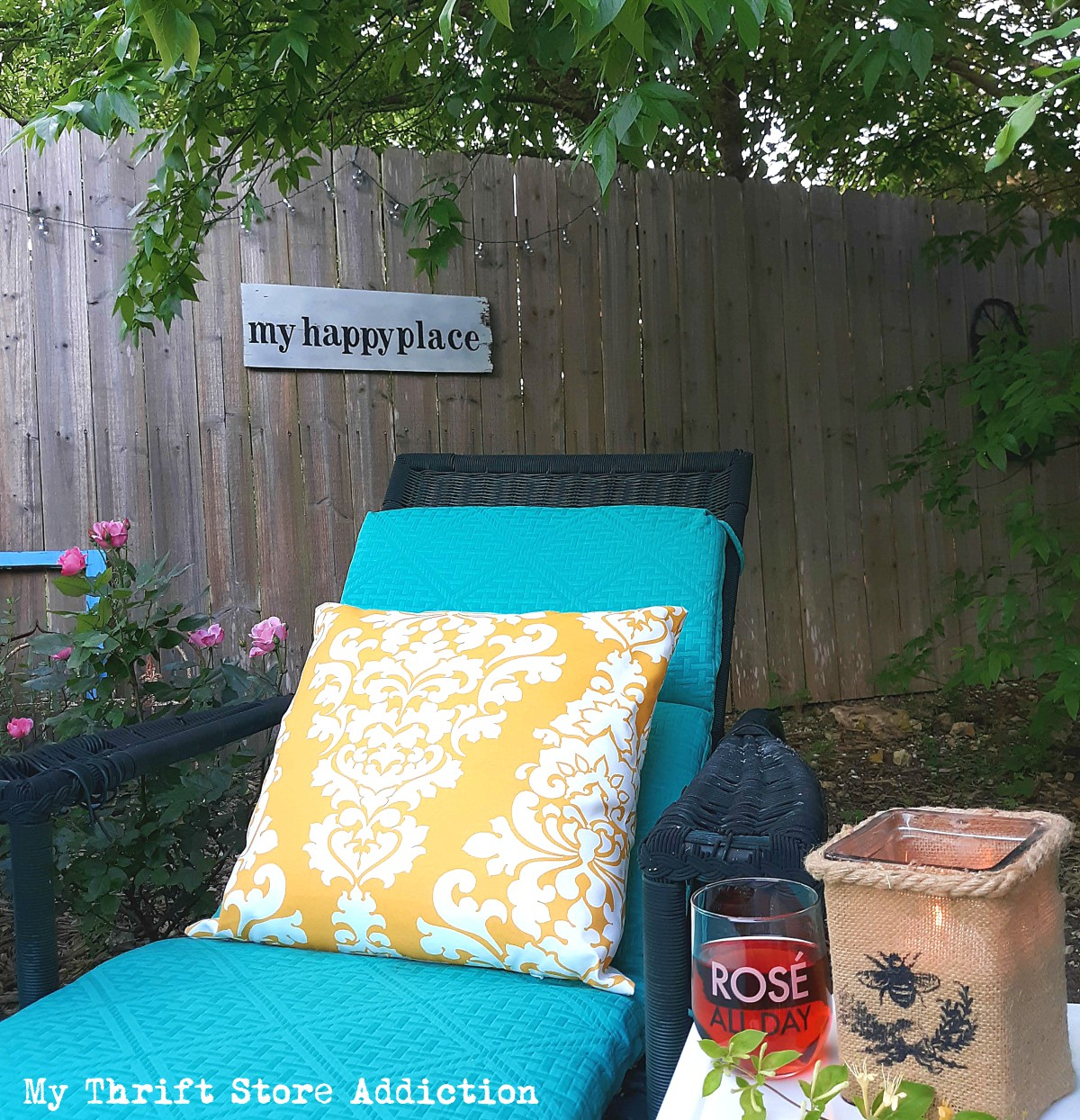DIY garden retreat