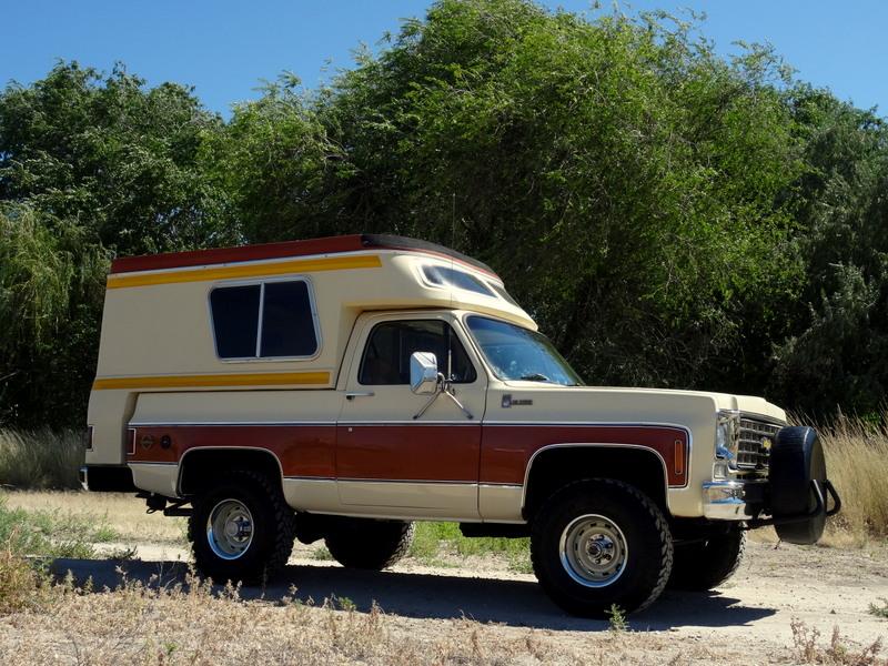 1976 Chevrolet Blazer Blazer Cheyenne Chalet