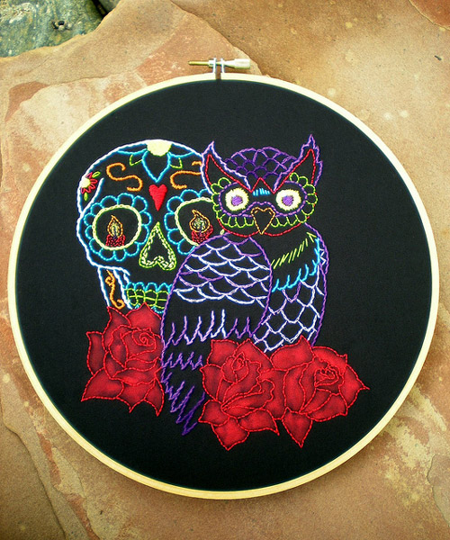 My Owl Barn Day Of The Dead Owls