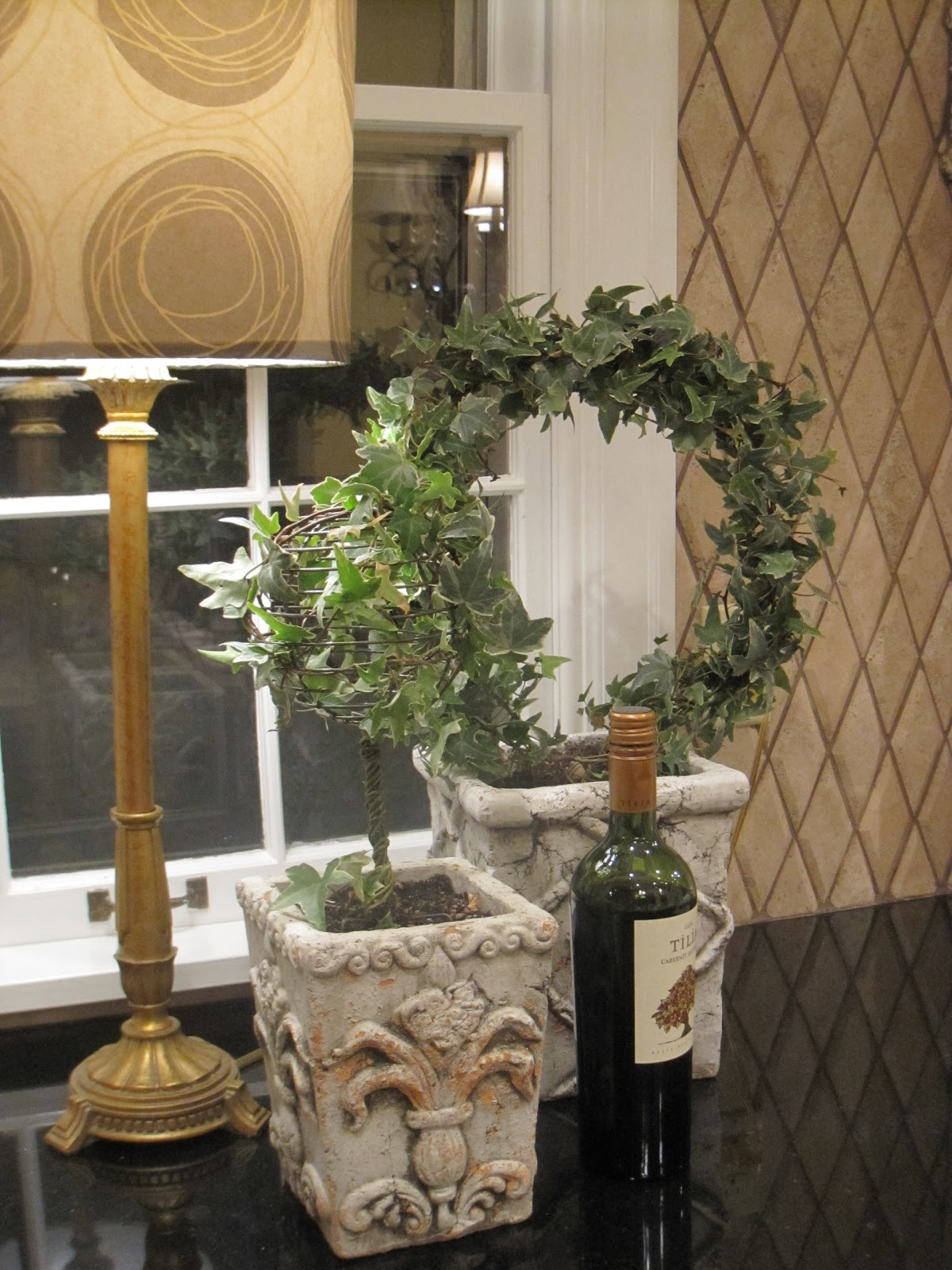 Simple Details Diy Ivy Topiary