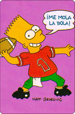 Bollycao The Simpsons Cromo 35
