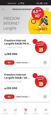 Apa Itu Paket Freedom Internet Longlife Indosat