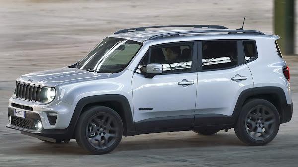 Vídeo mostra nova central multimídia do Jeep Renegade 2022