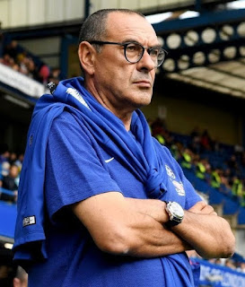 Sarri's Napoli team twice finished runners-up in  Serie A but were unable to overhaul Juventus