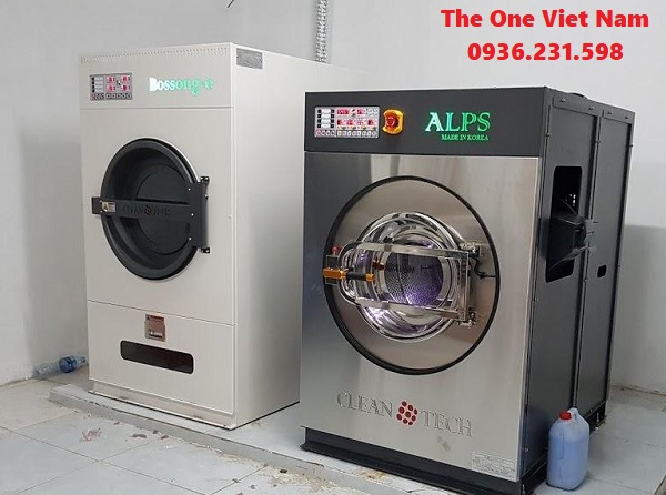 máy giặt công nghiệp cho xưởng giặt ở Quảng Ninh