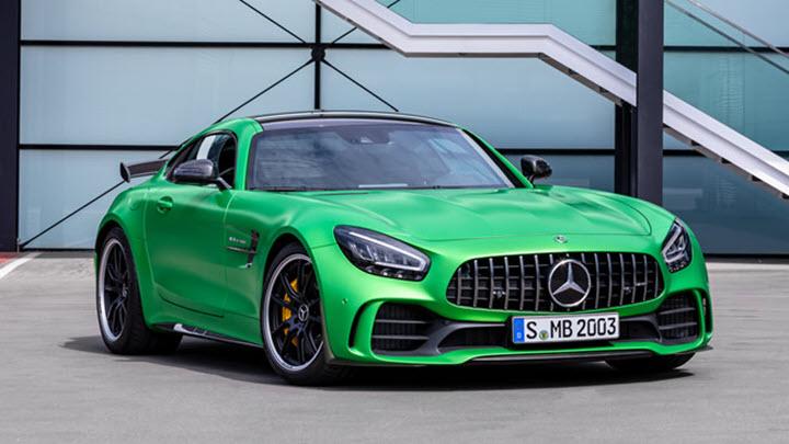 Mercedes-AMG GT R giá 11,6 tỉ đồng 'so kè' Porsche 911 Turbro