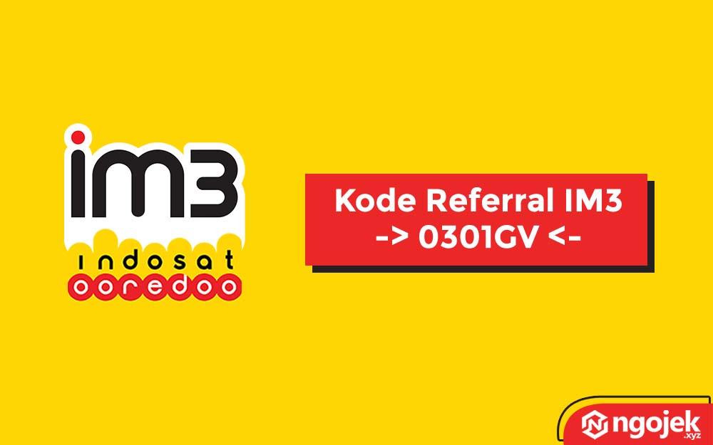 kode referral im3