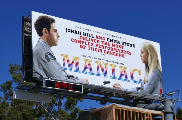 Maniac 2019 Emmy consideration billboard