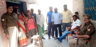 सेनापुर गांव में पंचायत चुनाव को लेकर हुई बैठक  | #NayaSaberaNetwork