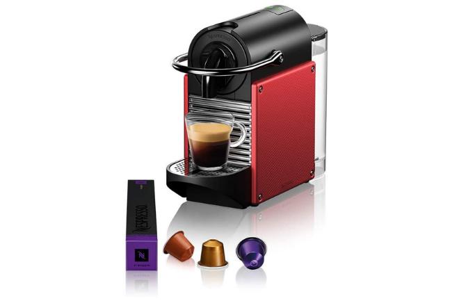 Cafeteira Nespresso Pixie e capsulas