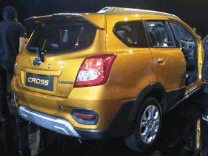 Spesifikasi Datsun Go Cross