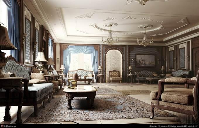 Interior 3D Art by Marwan M. Saliba