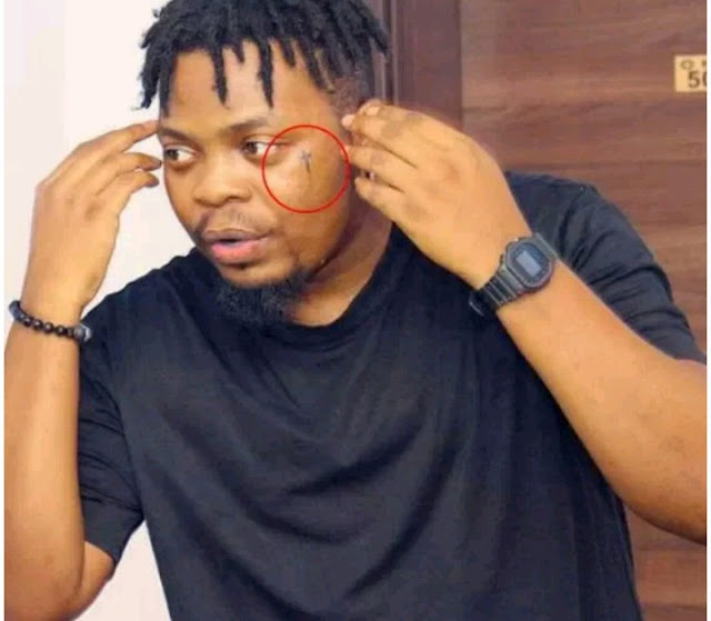 Olamide new facial tattoo already brought him hatreds from his fans.. See Why?
