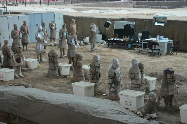 Laboratoire d'archéologie à Xi'an