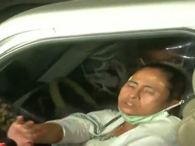 Big Breaking:West Bengal Chief Minister Mamata banerjee became allegedly attacked in Nandigram